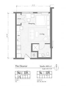 Floor plan for The Eleanor