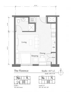 Floor plan for The Florence