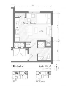 Floor plan for The Jackie