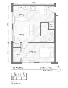Floor plan for The Martha