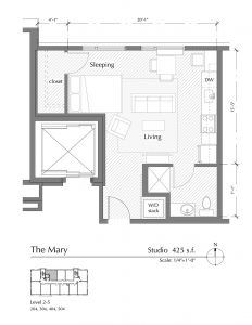 Floor plan for The Mary