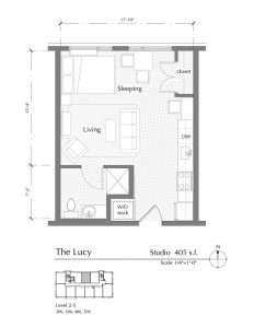 Floor plan for The Lucy