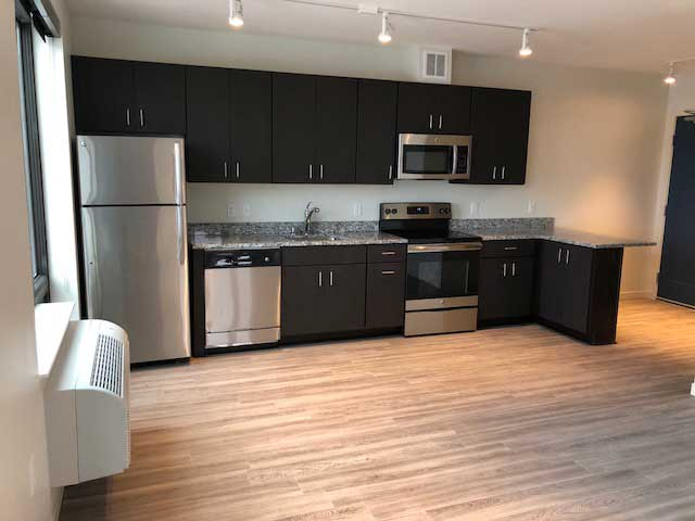 Aberdeen Apartments Full Kitchen